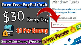 Earn up to $30 Per Day Free PayPal Cash
