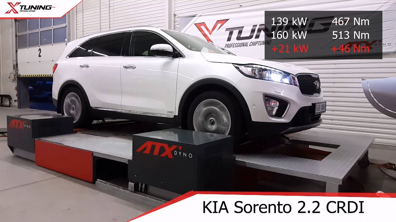 XTUNING chip KIA Sorento 2 2 CRDI upgrade performance 218 HP