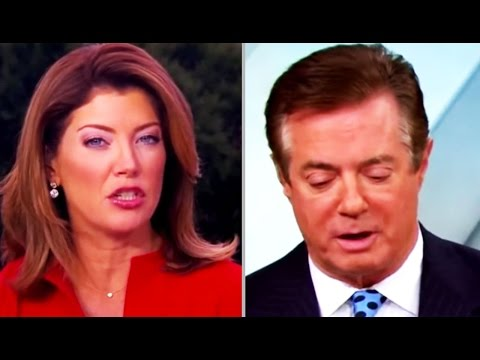 FLASHBACK: Trump Campaign Manager Gets A LITTLE AWKWARD When Asked About Trump & Russian Oligarchs