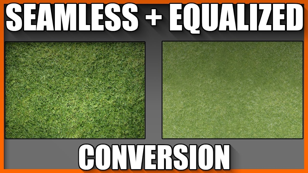 Blender 2.8 Seamless equalized texture conversion tutorial