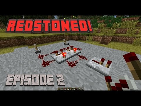 Redstoned! E02 - Expandable,Multiple Input XOR Gate