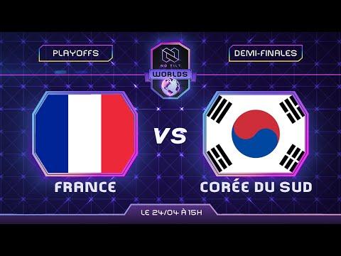 FRANCE vs CORÉE DU SUD - Demi-finales | Coupe du monde 2021 - feat. @Ouah Leouff