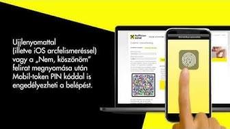 Raiffeisen DirektNet, internetbanki belépés Mobil-tokennel