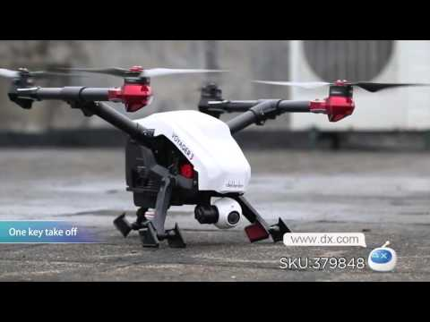 DX: Splendid Walkera Quadcopter Voyager 3 with DEVO F12E 2.0MP Camera/GPS/Ground Station