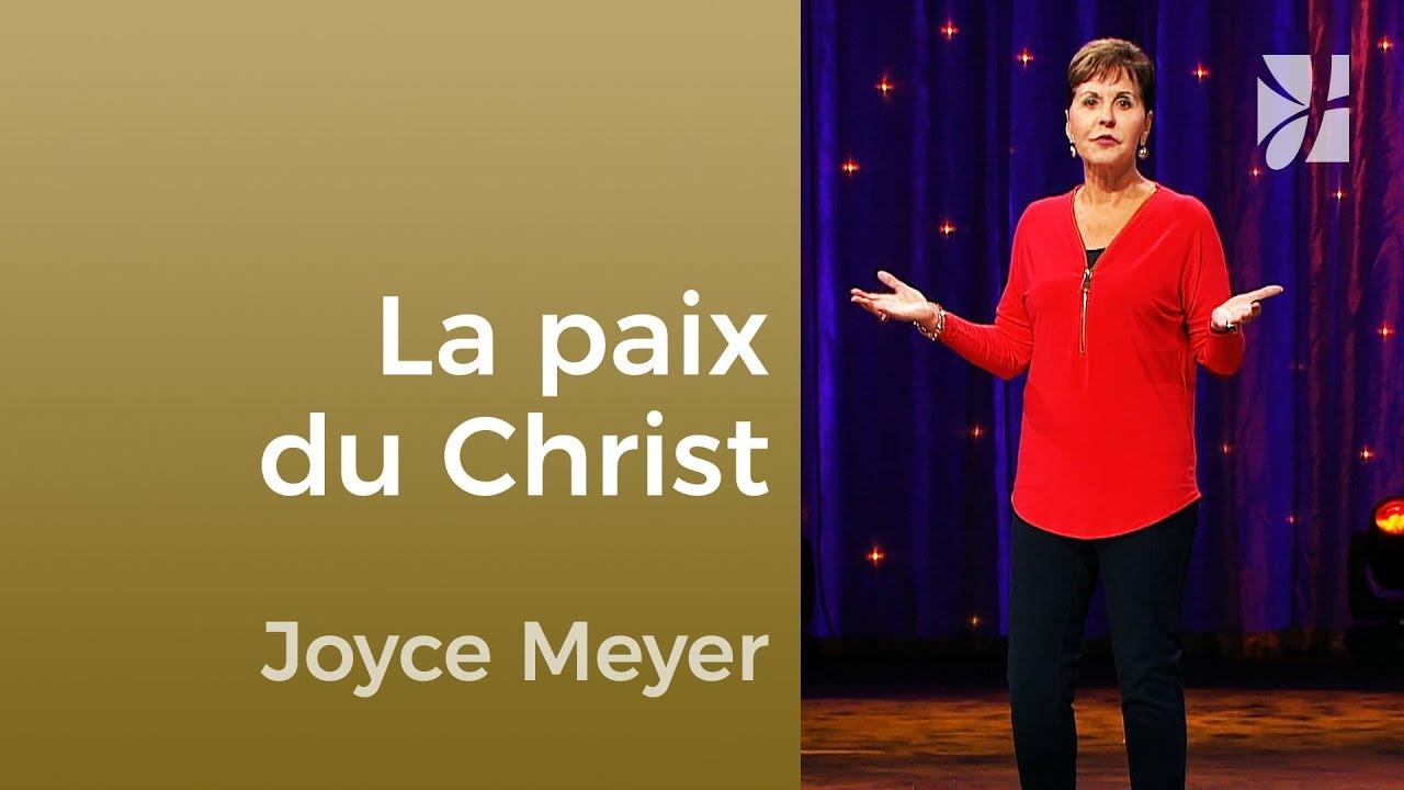 Quand nous restons en paix (2/2) - Joyce Meyer - Maîtriser mes pensées