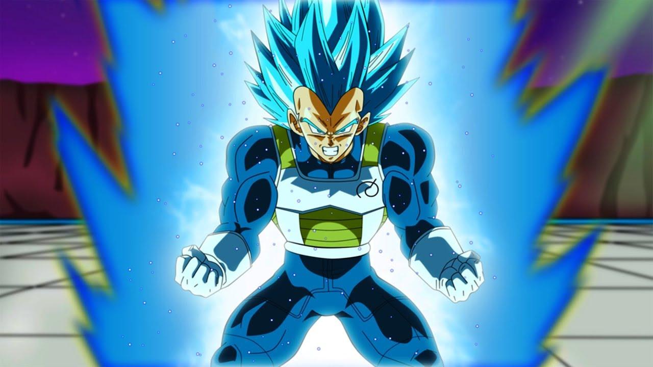 Fotos De Vegeta Color Azul: Vegeta's New Form BEYOND That Of Super Saiyan Blue!