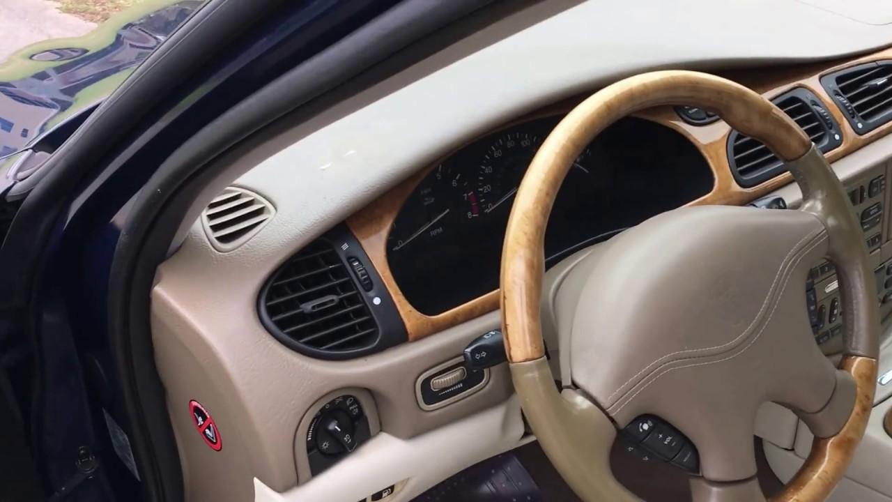 2002 Jaguar S Type Interior