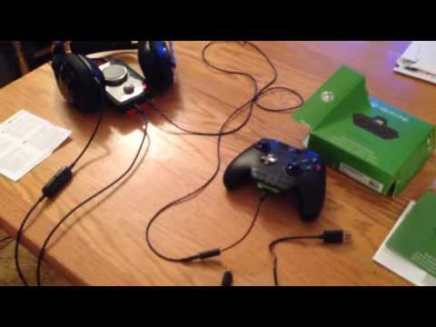 Xbox One Stereo Headset Adapter Setup Tutorial W/ Wired Astro A40s And MixAmp