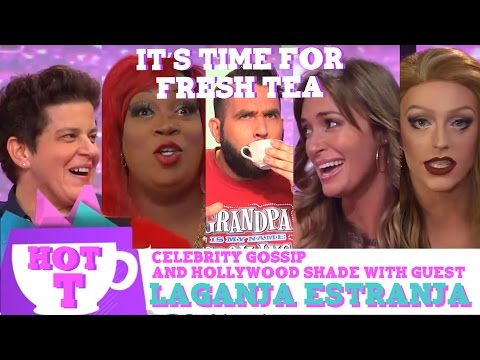 Laganja Estranja on Hey Qween HOT T: Celebrity Gossip And Hollywood Shade Episode 5
