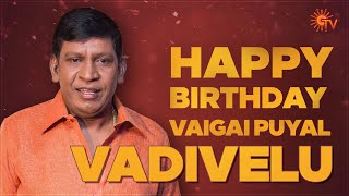 Happy Birthday Vaigaipuyal Vadivelu | Sun Tv