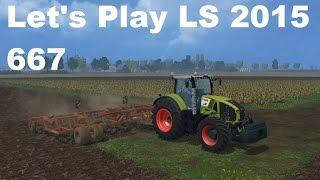 Let's Play Landwirtschafts Simulator 2015 #667 Neuer Traktor Claas Axion 950 #LS15 HD deutsch mods
