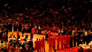 Derrick Rose mvp introduction 5/4/11 United Center