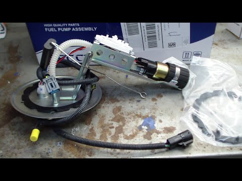 Repeat How to Install In-Tank Fuel Pump in 1985-1986 Ford