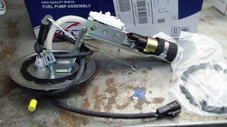 Ford Crown Victoria Fuel Pump Replacement FAIL!