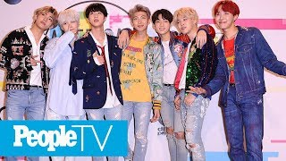 K-Pop Band BTS Top Time Magazine's Annual List Of 'Next Generation Leaders'   PeopleTV Video