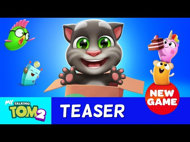 We're Ready for My Talking Tom 2! Are You?  (Pre-register NOW to Get it First!)