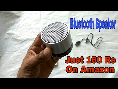 Bluetooth Wireless Speaker (S10) For Mobile/Laptop Unboxing & Review - Hindi