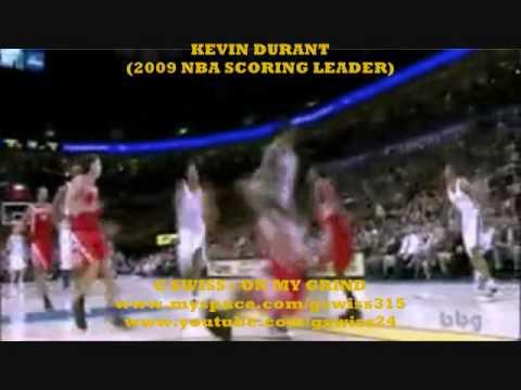 G SWISS & KEVIN DURANT NBA SCORING LEADER - HIGHLIGHTS (2009 -2010)