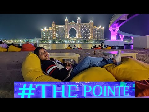 The Pointe | Dubai new tourist attraction | Palm Jumeirah | Atlantis Hotal Dubai