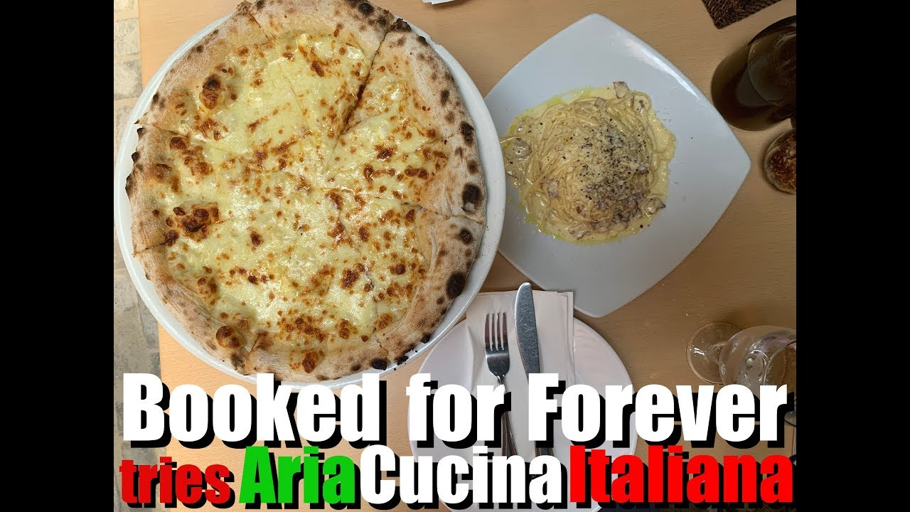BookedforForever tries Aria Cucina Italiana of Boracay - YouTube