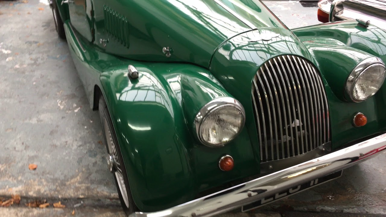 1968 MORGAN 4/4 FOR SALE on eBay - YouTube