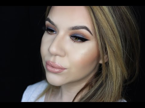 Duo Tone Look Warm and Cool Grey Eye Tutorial | KatEyedTv