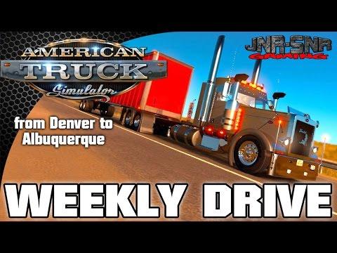 Peterbilt 389 | ATS | AMERICAN TRUCK SIMULATOR | Denver to Albuquerque