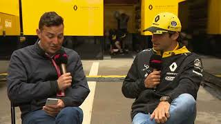 Another Live Q&A with Carlos Sainz | F1 Spanish GP 2018