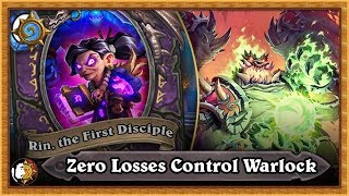 Hearthstone Rank 7 To 5 Zero Losses - Control Warlock