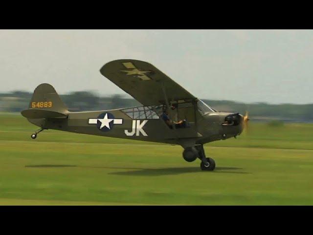 Piper L-4 - Flight of the Day