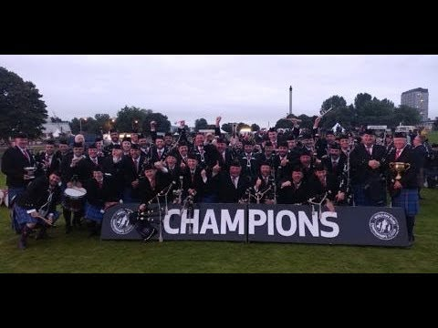Dunedin celebrates our World Championship City of Dunedin Pipe Band!
