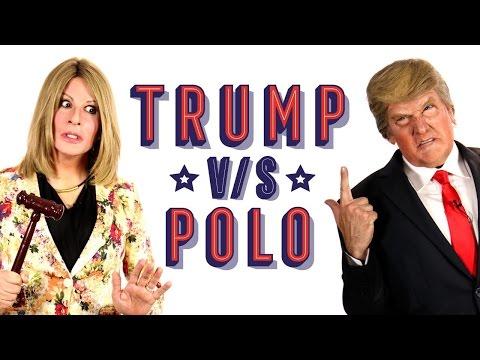 Trump vs Polo - Imitación de Stefan Kramer -  Caso Cerrado (Subtitulado)