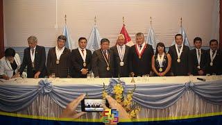 NELSON CHUI PRESENTE EN ACTOS CONMEMORATIVOS POR 141° ANIVERSARIO DE HUACHO