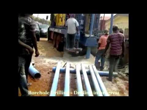Borehole drilling - drilling deeper - Enacent Limited Ghana