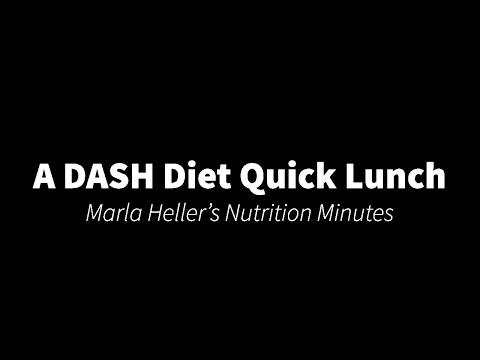 DASH Diet Quick Lunch