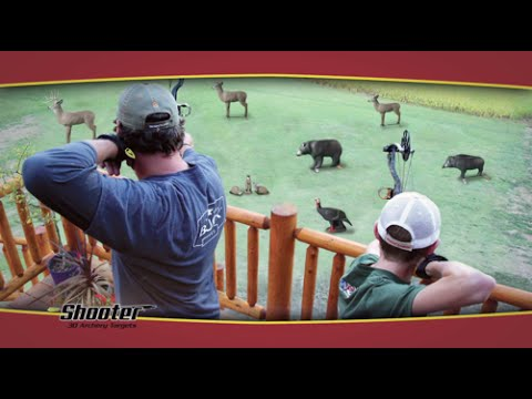 Build Your Own Archery Range With Shooter 3D Targets   YouTube
