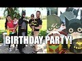 LEGO BATMAN ROBIN BIRTHDAY PARTY!