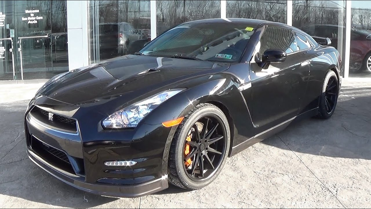 2013 Nissan GTR: Review - YouTube