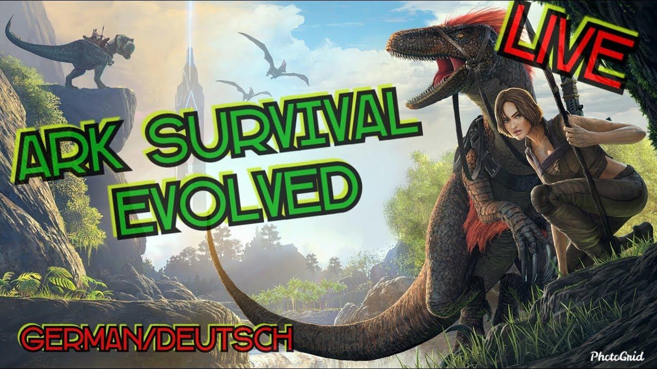 (LIVE)Ark Survival Evolved (German/deutsch)/FaceCam/ #The