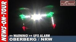 UFO ALIEN Alarm am Himmel in NRW | Warnung!!