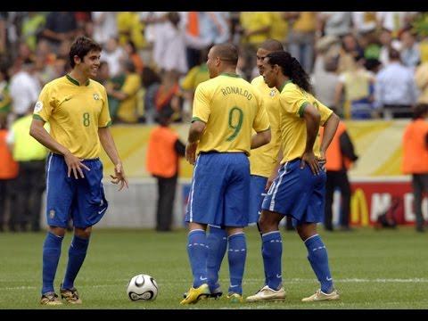 Brazil Magic Times ● Ronaldo ● Ronaldinho ● Adriano ● Kaká● Robinho