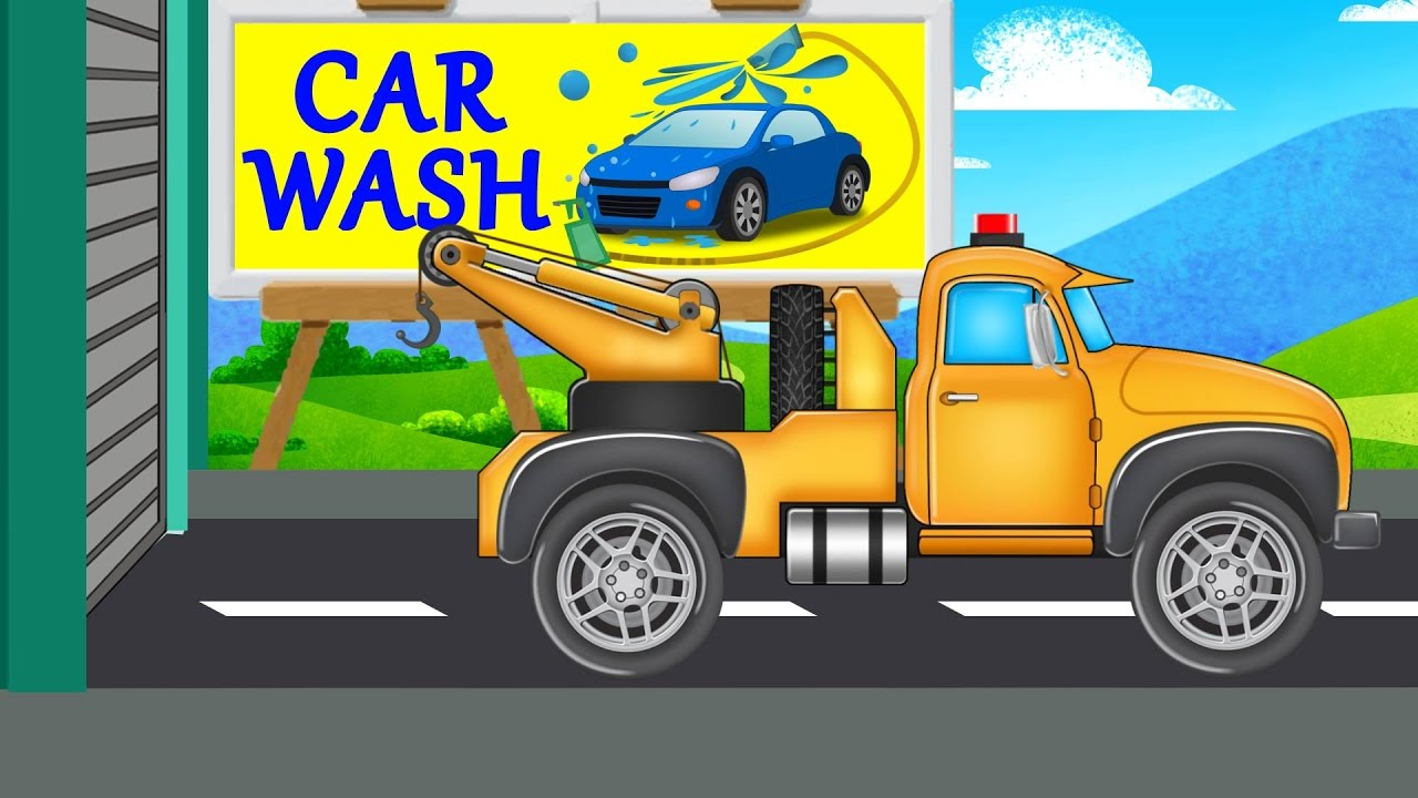 car wash videos for kids
