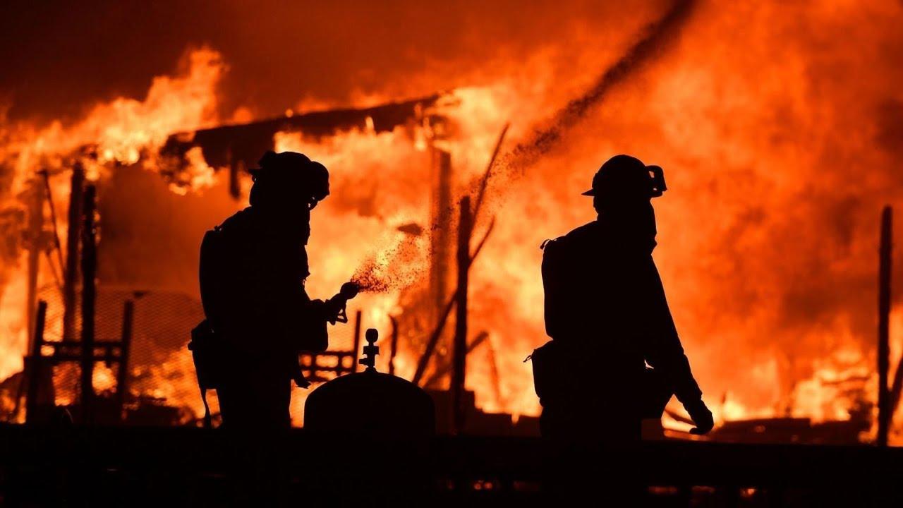 Incendio fuera de control en california doovi for Fuera de control dmax