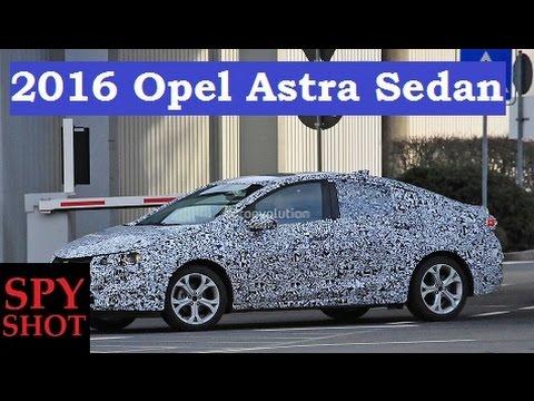 2016 Opel Astra Sedan Spy Shot !