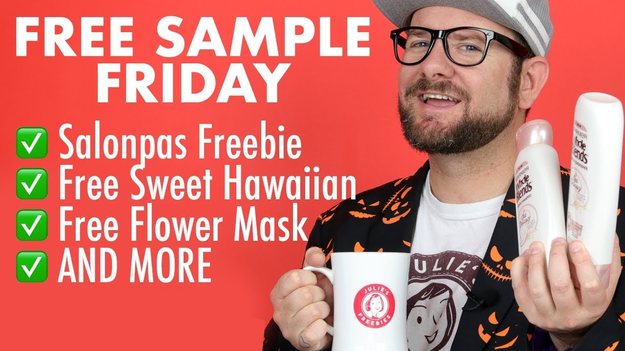 FREE SAMPLE FRIDAY - Claim Free Samples TODAY #FreebieFriday