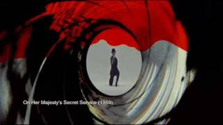 James Bond 007 Gun Barrels 1962 - 2008