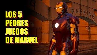 Los 5 Peores Juegos de Marvel