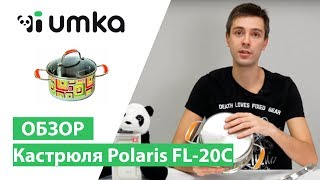 Кастрюля Polaris FL 20C / распаковка и обзор кастрюли поларис для всех поверхностей