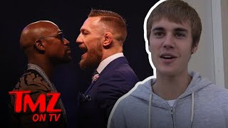 Justin Bieber Says No KO For Money Mayweather | TMZ TV