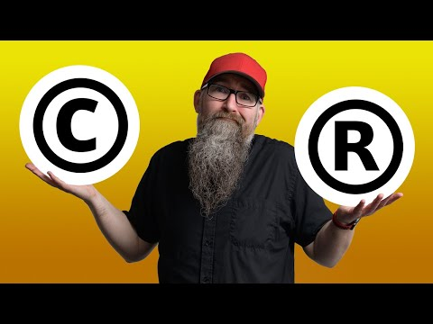 Copyright versus Trademark - What's the difference?